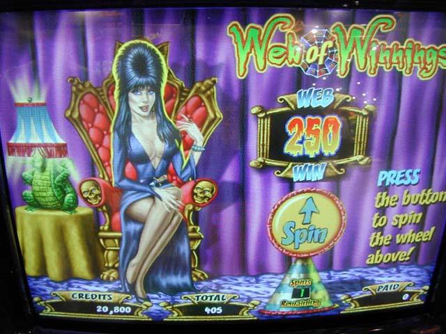 elvira slot game